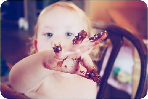 Choco-fingers