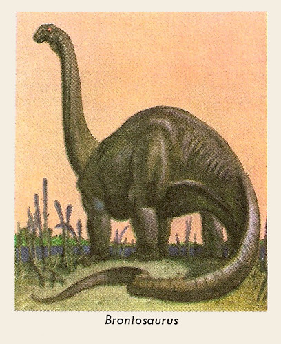 Golden Brontosaurus