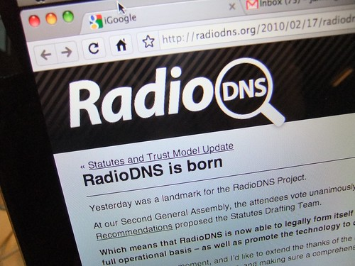 RadioDNS announcement