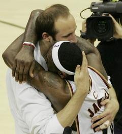 Big Z hug