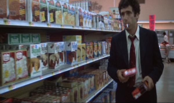 Marlowe in a supermarket