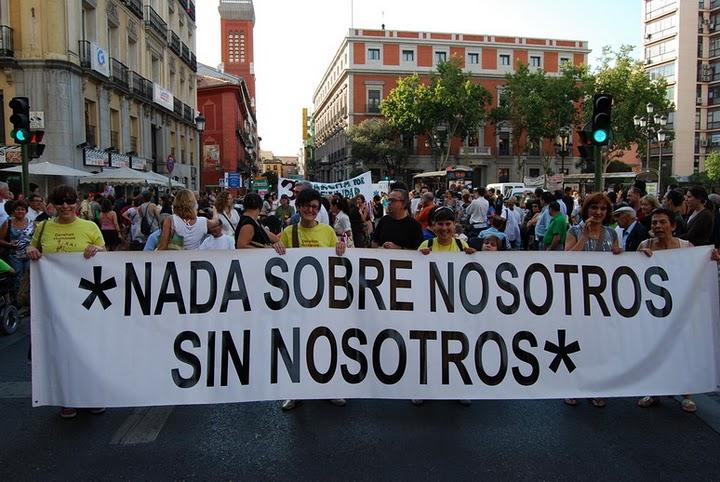 Fotografia de una de las marchas anteriores