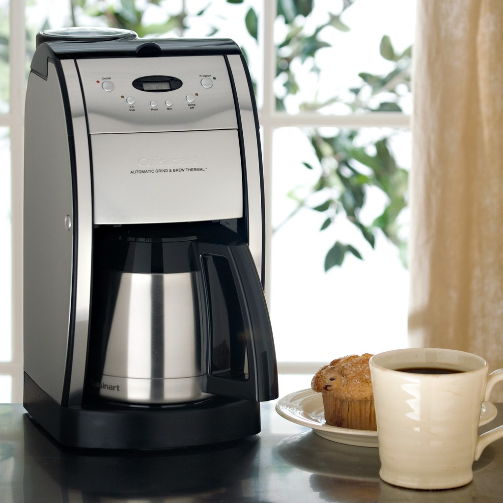 cuisinart10cup grind and brew