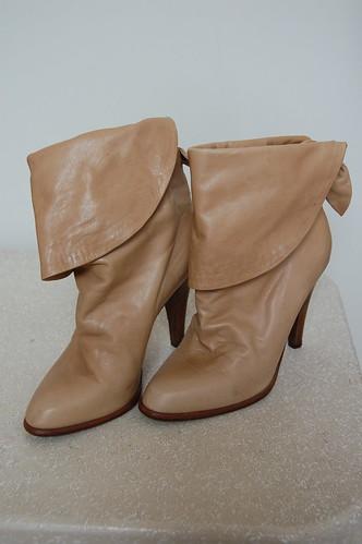 vintage Mignani boots (front)