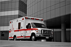 | Ambulance (Faisal AlKhudairy \   ) Tags: car canon photography 50mm focus ambulance l usm 18 emergency f4 faisal       1855m 70200m 400d          alkhudairy