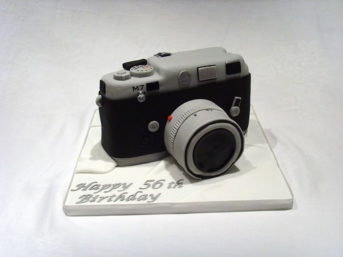 Leica Camera Birthday Cake