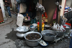 Local food on the market of Kohima (sensaos) Tags: food india cuisine asia market north markets east local markt northeast march azie noord oost
