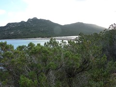 Baie de Porto Novo et plage Ouest