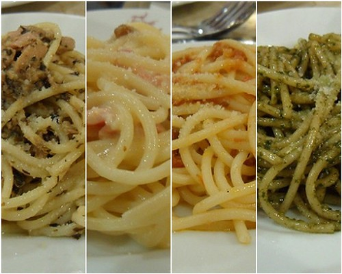 Figaro Pasta Choices