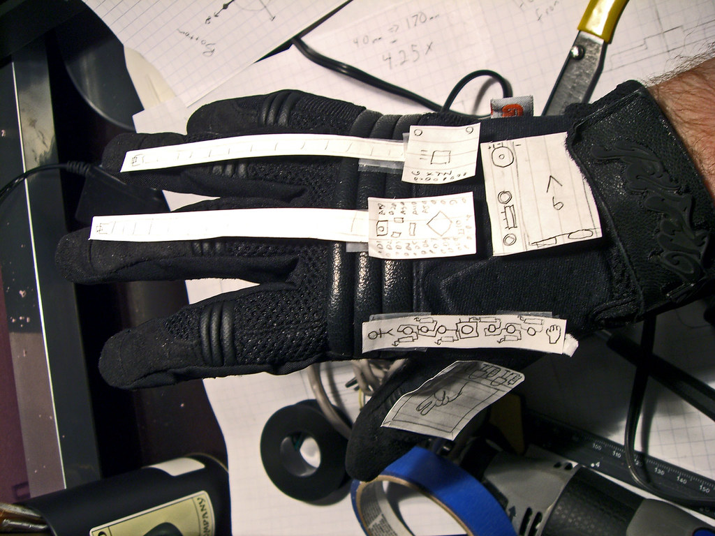 Rock Paper Scissors Glove - Planning