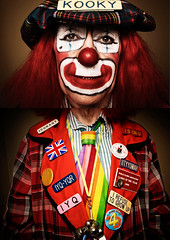 clown kooky...