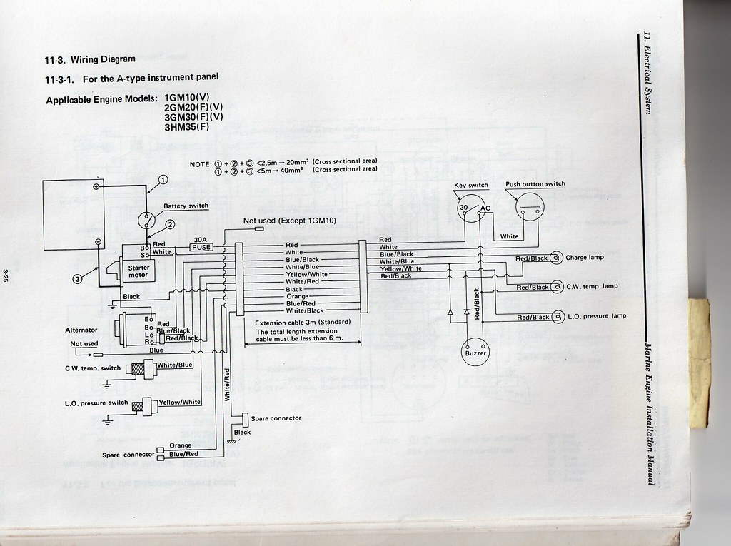 Cool Manual For Yanmar 2Gm20F Wiring Cloud Hisonuggs Outletorg