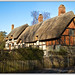 Anne Hathaways Cottage, Stratford Upon Avon Warwickshire GB 1