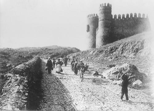 Castillo de San Servando hacia 1900