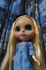 74/365 Finally Blue Skies and a New doll YAY :D