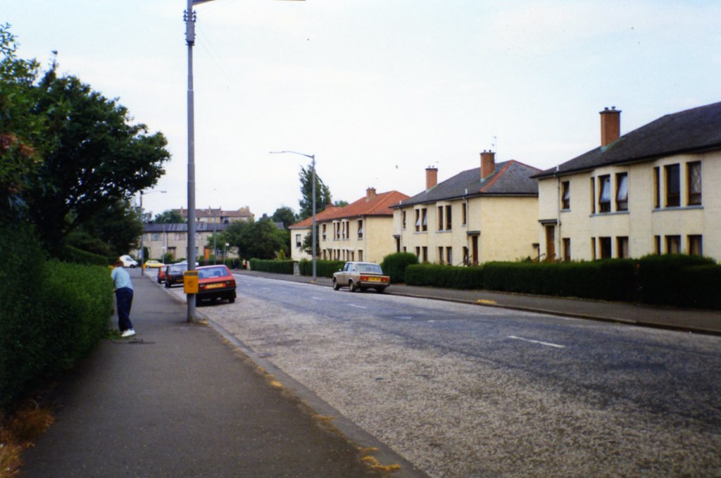 Warrieston Street Carntyne (Ruchazie Road End ) 1994