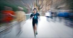Sprint !!! (Antonio Goya) Tags: street urban espaa color colour sport spain nikon flickr top creative best zaragoza aragon 70300mm sprint 169 goya marzo 2010 zooming panoramico robado d90 callejeo cinematico mywinners