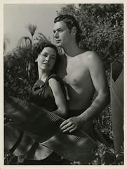 7000-0878 (AliceJapan ʕ •ᴥ•ʔ) Tags: 1936 johnny maureen mgm weissmuller johnnyweissmuller maureenosullivan o'sullivan tarzanescapes