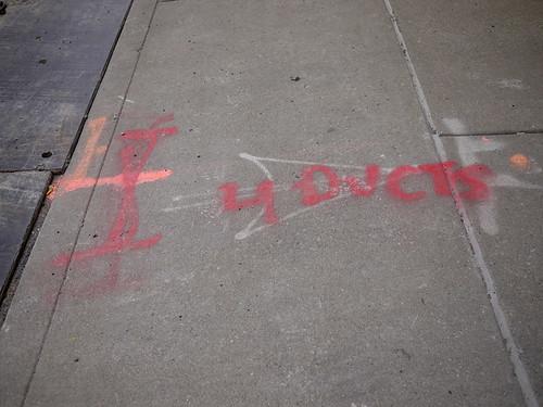 utility graffiti