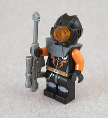 Winter Post-Apoc Survivor (Titolian) Tags: winter cold post lego rifle suit armor sniper thermal survivor apoc widebore ornj3