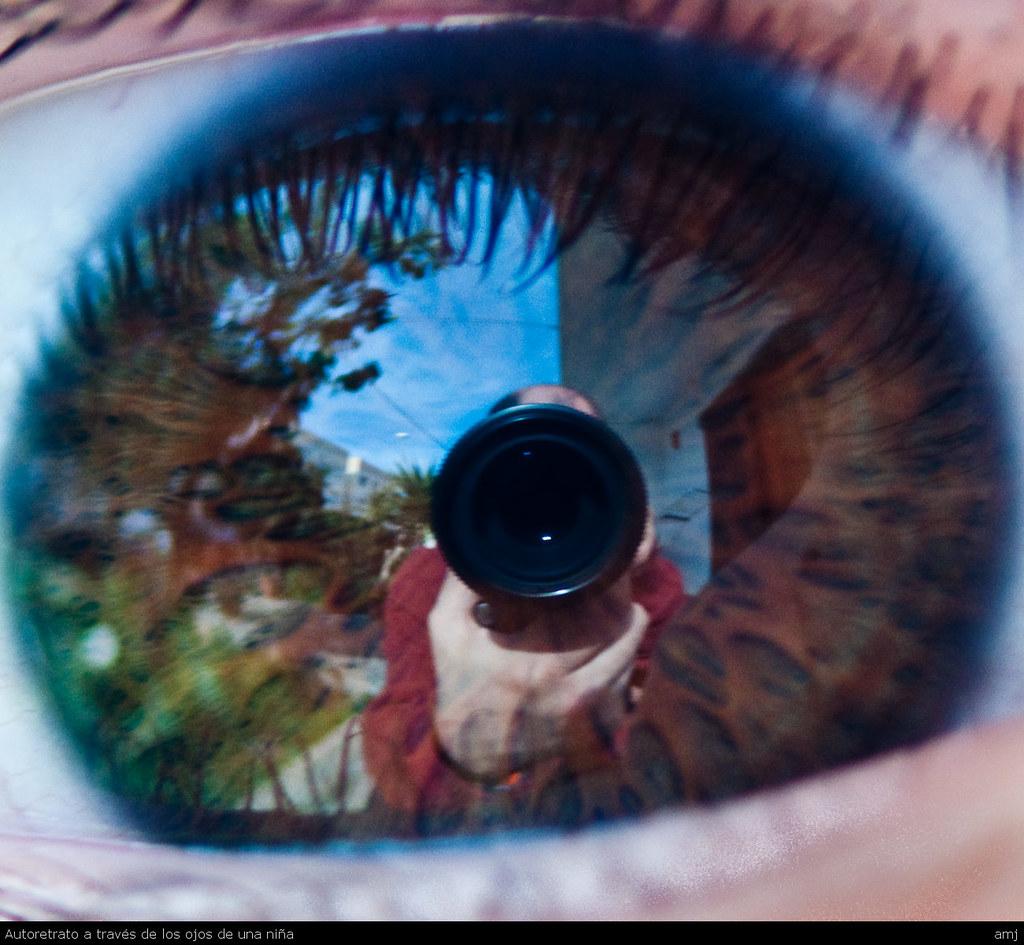 Autoretrato a través de los ojos de una niña