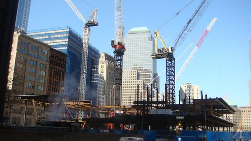 Ground Zero sotto ricostruzione