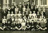 Jim McGinn Front Row, 6th on the left, Riddrie School, Leader Street 1954