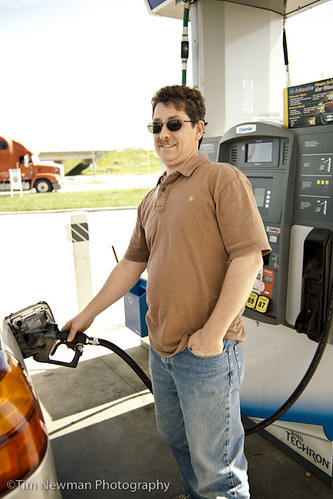 Pump your own gas!