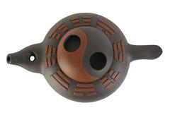 Yixing Yin Yang Teapot (Yixing Teapottery) Tags: tea handmade craft gift pottery teapot yixing orient yinyang stoneware