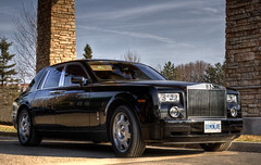 Rolls Royce Phantom (Billy Wilson Photography) Tags: ontario canada car digital sedan canon four eos rebel gold automobile doors wheels rich fine superior rollsroyce grill tires chrome transportation vehicle british xs phantom expensive northern saloon royalty limousine hdr highdynamicrange saultstemarie highclass northernontario excellence highend algoma luxurycar flagship rollsroycephantom worldclass spiritofecstasy finecars billywilson exoticecar
