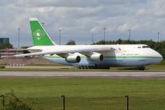 5A-DKN - 1994 build Antonov An-124-100, current status unknown (egcc) Tags: man manchester ringway antonov egcc an124 an124100 libyanaircargo 5adkn 19530502792