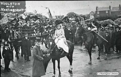 Coronation Celebration 1911 (Livewire Libraries' images of Warrington) Tags: horses people children costume warrington leisure coronation woolston martinscroft