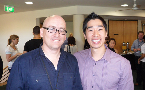 Darren Rowse and Tyrone Shum