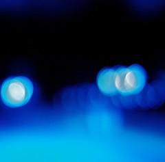 Driftin' (Jazzyblue TR) Tags: road blue light night canon bokeh 50mmf18 bokehhearts rebelt1i