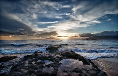 Wailea Sunset (Apogee Photography) Tags: hawaii places maui hdr nikond5000
