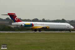 OY-JRU - 49403 - Danish Air Transport - McDonnell Douglas MD-87 - Luton - 100825 - Steven Gray - IMG_2312