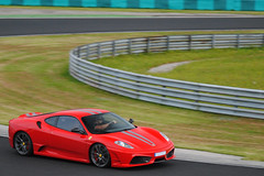 Ferrari 430 Scuderia (MarcoT1) Tags: nikon hungary ferrari racing days scuderia hungaroring 2010 430 mogyord d3000