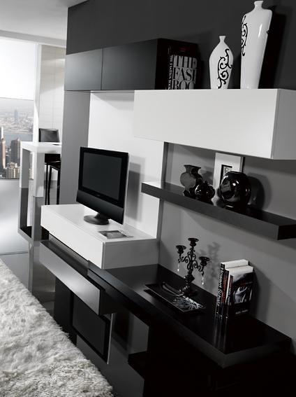 Modular Moderno Rack Panel Tv Lcd Living Progetto Mobili (Modulares) a