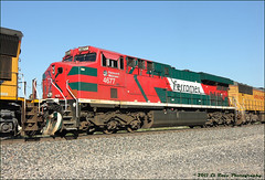Ferromex 4677  [2011 Solstice Study] (El Roco Photography) Tags: california railroad santafe up train canon outdoors photographer desert rail trains socal sp mojave transportation unionpacific locomotive ge railfan bnsf trainspotting cajon railroads desertlandscape mojavedesert cutoff southernpacific sanbernardino freighttrain sanbernardinocalifornia desertflora inlandempire emd atsf burlingtonnorthernsantafe desertmountains cajonpass es44dc railfans alltrains sd90mac sd70mac stacktrain sd70ace bnsfrailroad traininaction c45accte burlingtonnorthernsantaferailroad movingtrains desertshrub desertbeauty aphotographersnature palmdalecutoff elrocophotography