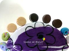 Alfifofos - Biscoito Recheado (Sonhos de Biscuit, by Kenynha M.) Tags: cupcake scrap costura alfinetes sewingpins