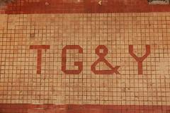 T G & Y (radargeek) Tags: city oklahoma tile photo okc capitalhill chapelhill guild capitolhill ch chapelhillphotoclub