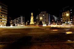 Night in Quevedo. Reto Movimiento. (héctorgarcíamartín) Tags: city madrid quevedo fuencarral street