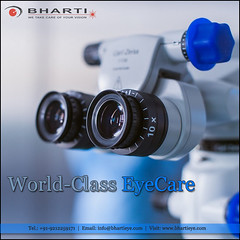 World-class eyecare in Heart of Delhi..! (bhartieye) Tags: bharti eye care eyecare phacoemulsification phacocataract phacoemulisification ophthalmology oculoplasty hospital foundation glucoma glaucoma asthetics cataract lasik catract laser refractive retina