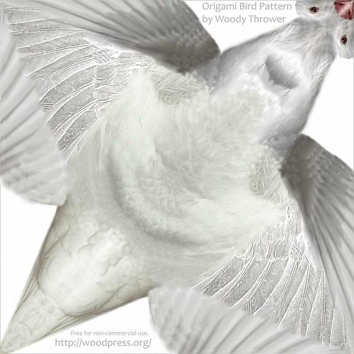 Origami Bird Pattern