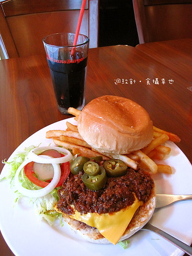 Evans Burger 墨西哥辣牛肉漢堡