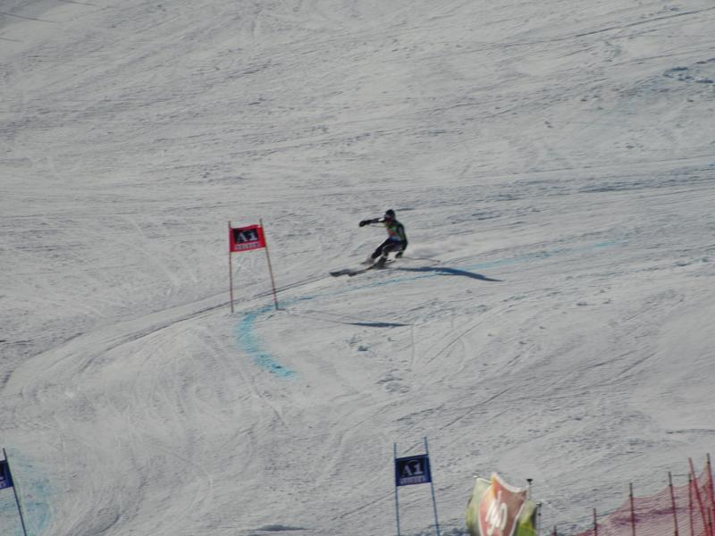 World Cup Solden - Warner skiing