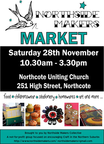 Northside Makers Market Poster 28 November v1