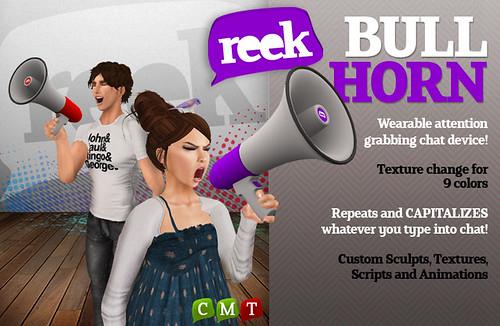 Reek - Bullhorn Ad