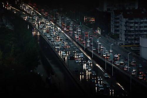 杭州白昼如夜--《杭州日报》记者李忠摄