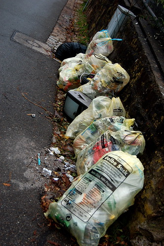 Detritus of consumption